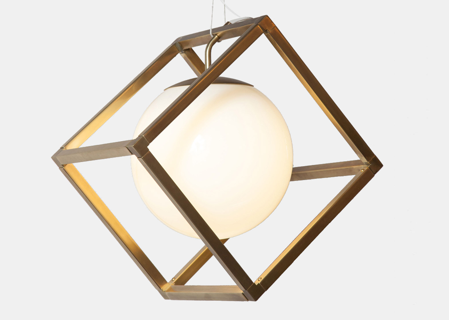 Picture Of minimalist lighting collection based on simple geometric forms  1
