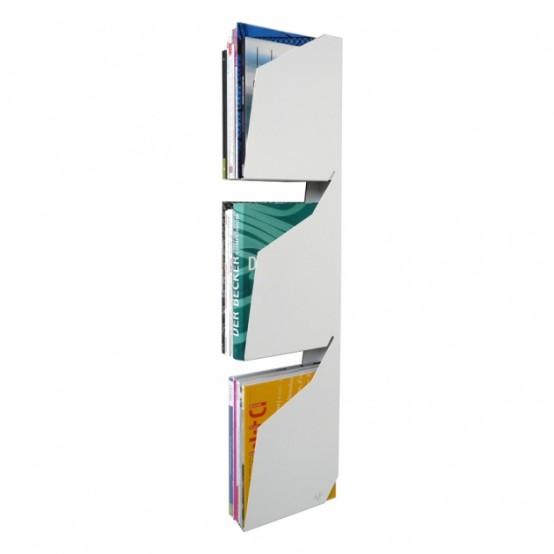 Minimalist Magazine Rack