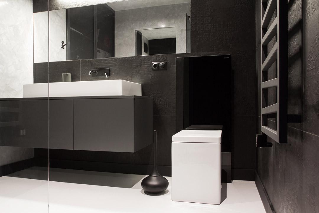 , Inspiring Bathroom Design Design Of Contemporary  Custom Bathroom Designs  On Minimalist Masculine Apartment Design With Neon Details And  :