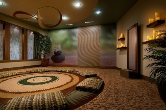 Spa Massage Room Interior