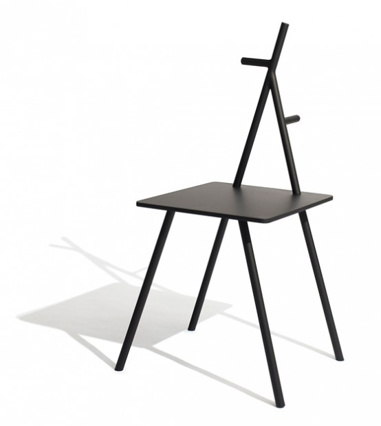 Minimalist Multifunctional Chair Appropriate For Many Spaces