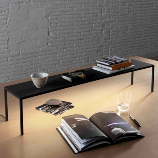 Minimalist Multifunctional Furniture Collection In Black And White