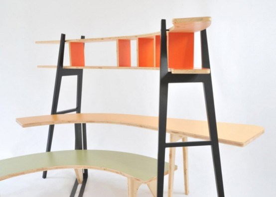 Minimalist Multifunctional Furniture Piece That Your Loft Lacks