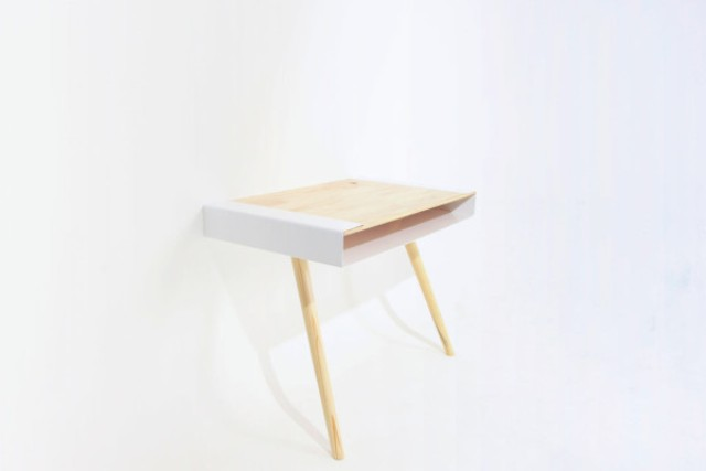 Picture Of minimalist pacco desk with extra storage space  3
