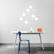 Minimalist Pendant Lamp Imitating A Usual Bulb