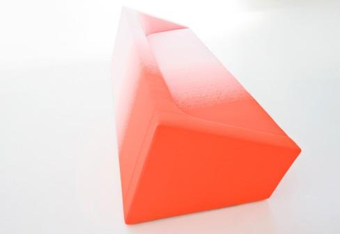 Minimalist Pink Sofa