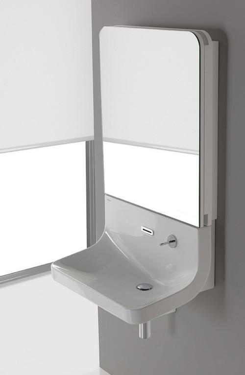 Minimalist Sleek Mirror Combo