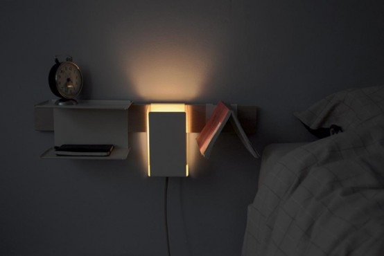 Minimalist Space Saving Pippin Bedside