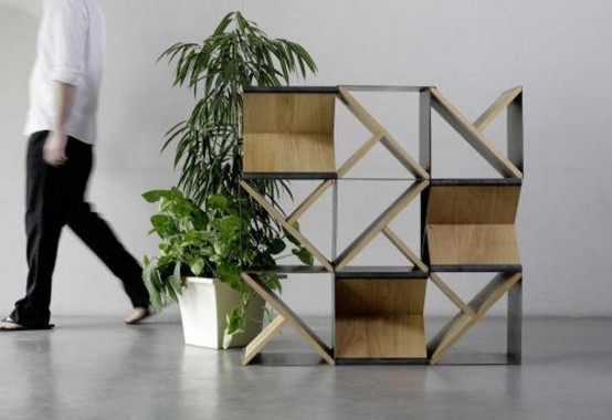 Minimalist Stool And Storage Unit In One