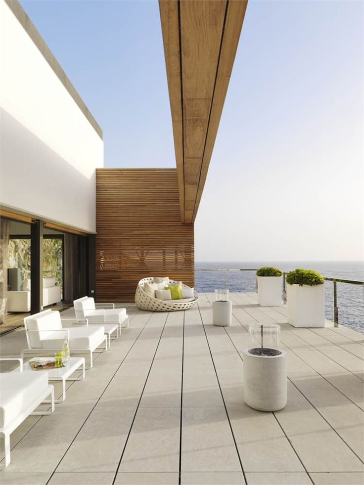 33 Minimalist Terrace And Deck D 233 Cor Ideas Digsdigs