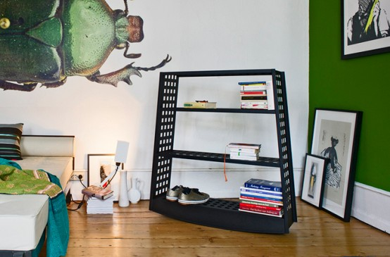 Minimalist Topple Rocking Shelf