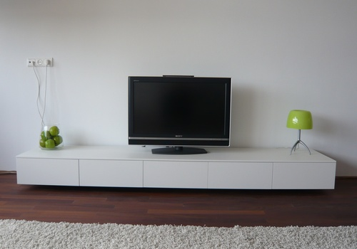minimalist tv stands and dressers from rknl digsdigs. Black Bedroom Furniture Sets. Home Design Ideas