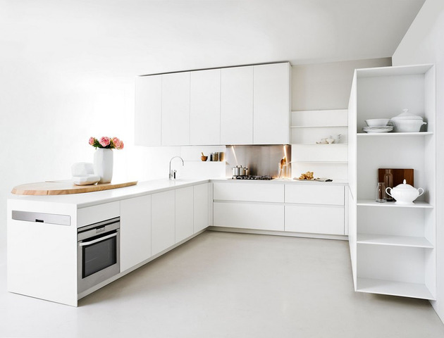 Impressive White Modern Small Kitchen Design 630 x 480 · 43 kB · jpeg