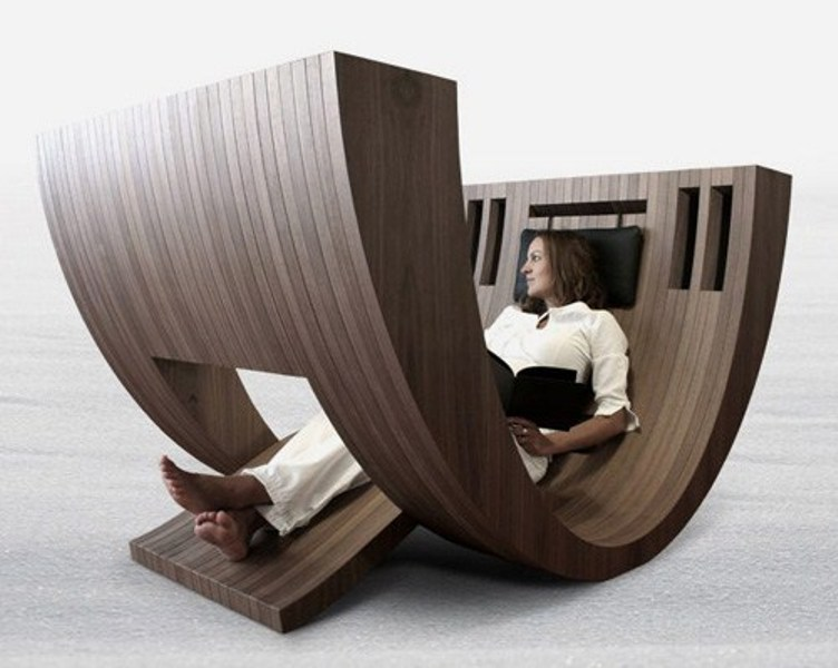 Minimalist Wooden Vessel For Real Readers