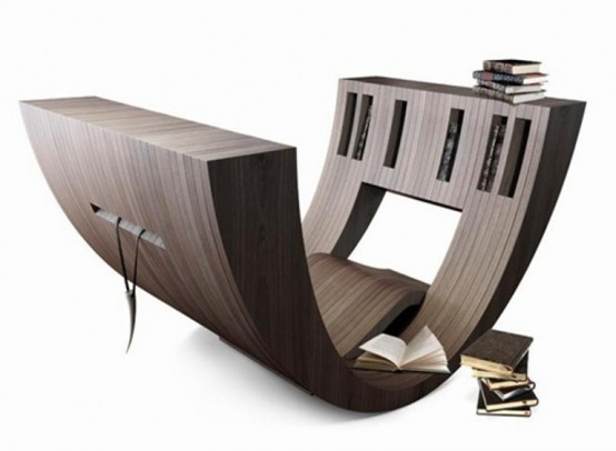 Minimalist Wooden Vessel For Readers