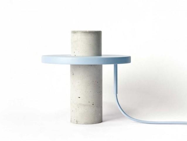 Minimalist Yet Sculptural Totem Table Lamp