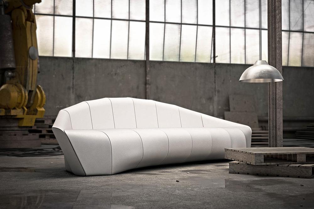 Advertisement for Minimalist sofa design
