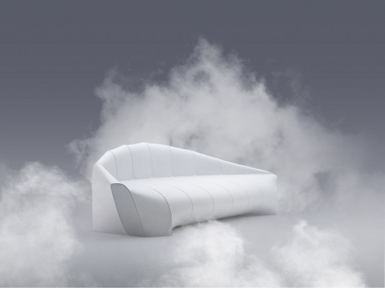 Minimalist Zeppelin Sofa Inspired By Iconic Airships