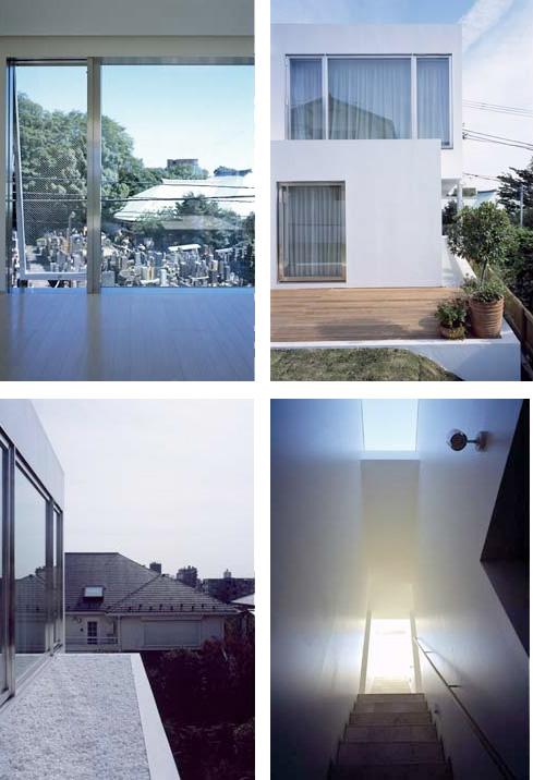 Modern White Minimalistic House Design In Todoroki Digsdigs