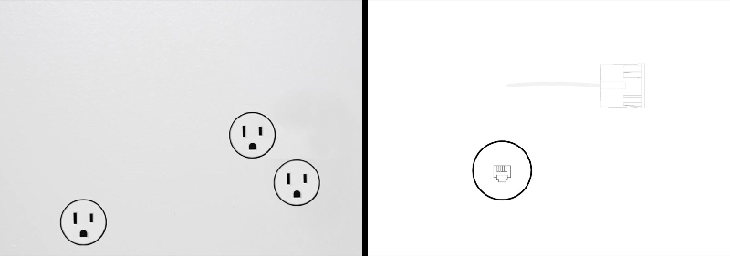Minimalistic Outlet