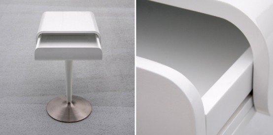 Minimalistic Small Table By Rknl