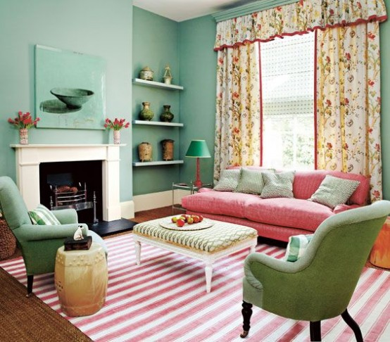 Mint Color In The Interior Ideas