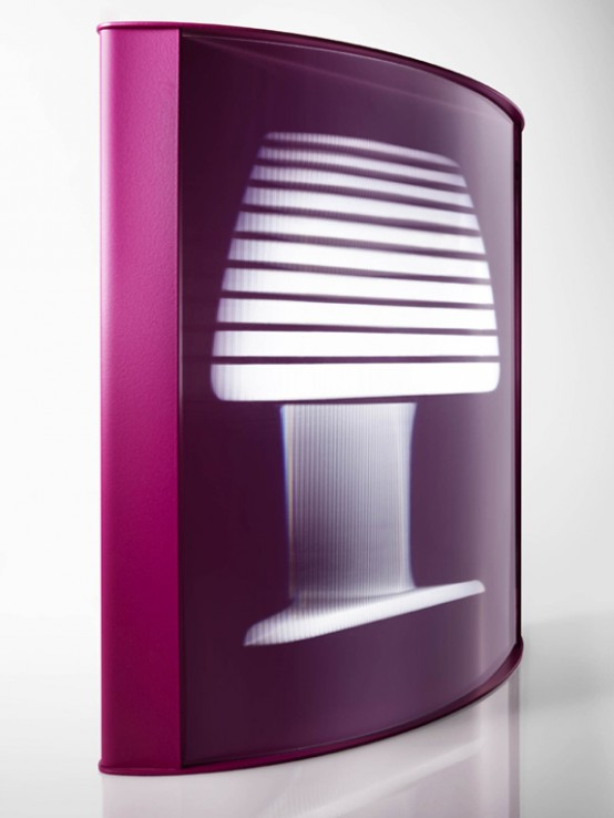 Mirage Florescent Tabletop Lamp