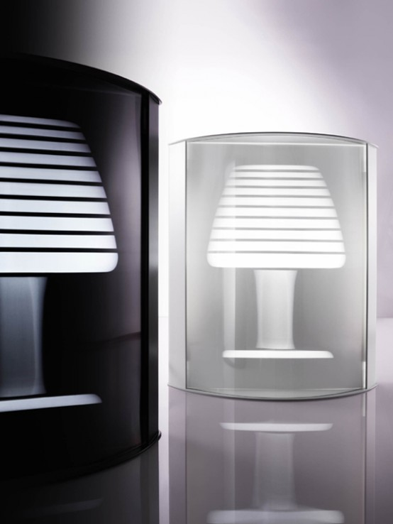 Florescent Table Lamp