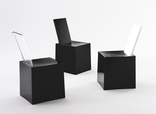 Modern Sculptural Plastic Chairs – Miss Less by Philippe Starck