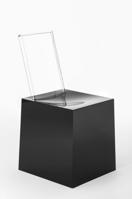 Miss Less Sculptural Chairs