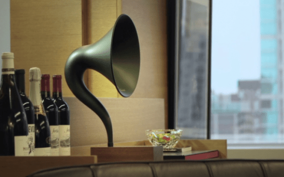 Mix Of Vintage And Hi-Tech: Gramavox Bluetooth Gramophone