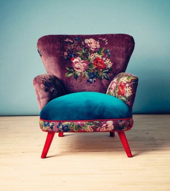 Enliven Your interior: 27 Mixed Upholstery Furniture Pieces