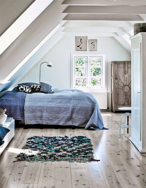Mmodern Ocean Inspired Home In Fresh Blues
