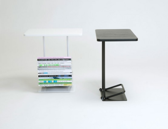 Mobile Side Tables