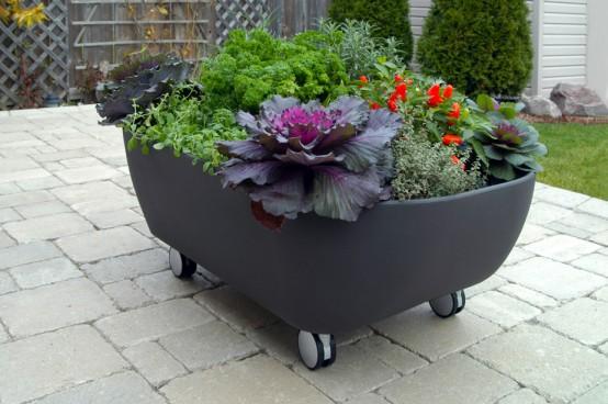 Mobile Tub Like Garden