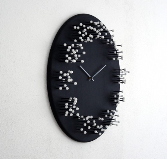 Mocap Wall Clock Blurring Time