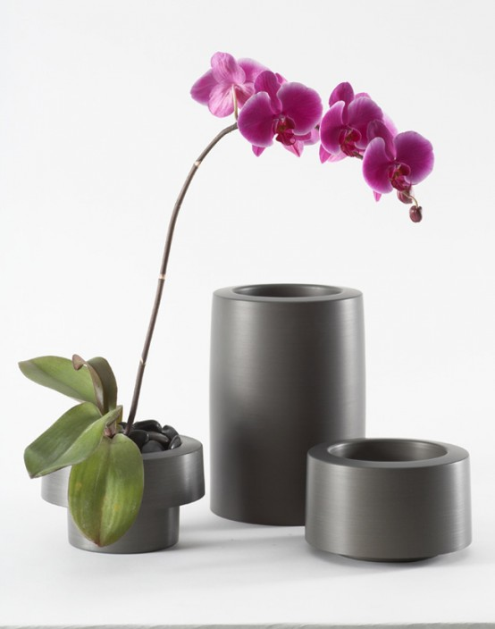 Modern And Colorful Aluminum Planters