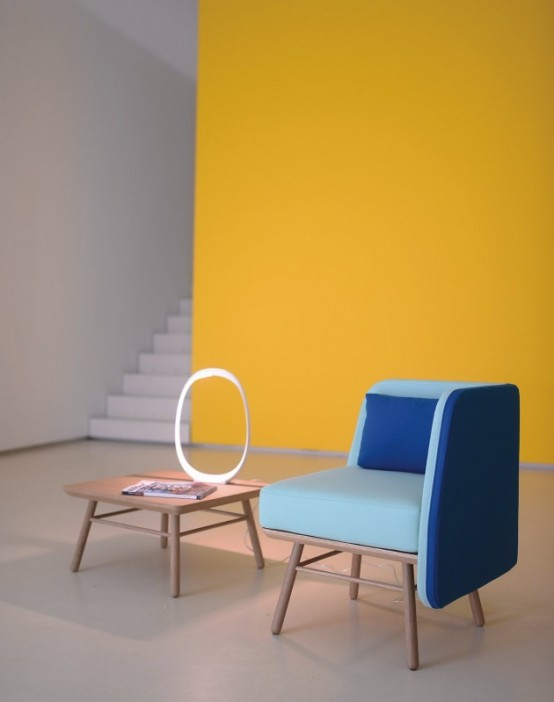 Modern And Colorful Bi Silla Chair By Silvia Cenal