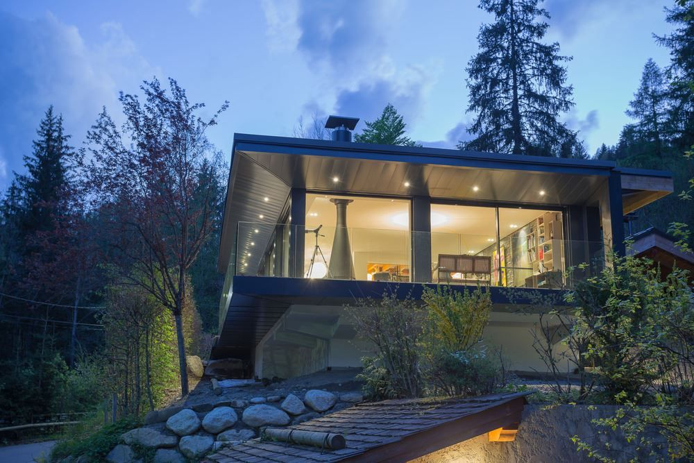 Picture Of modern and elegant french chalet with a new extension  2