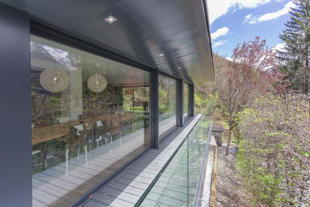 Picture Of modern and elegant french chalet with a new extension  4
