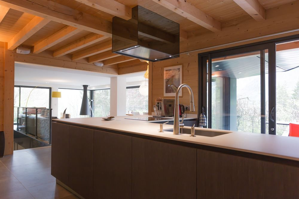 Picture Of modern and elegant french chalet with a new extension  7