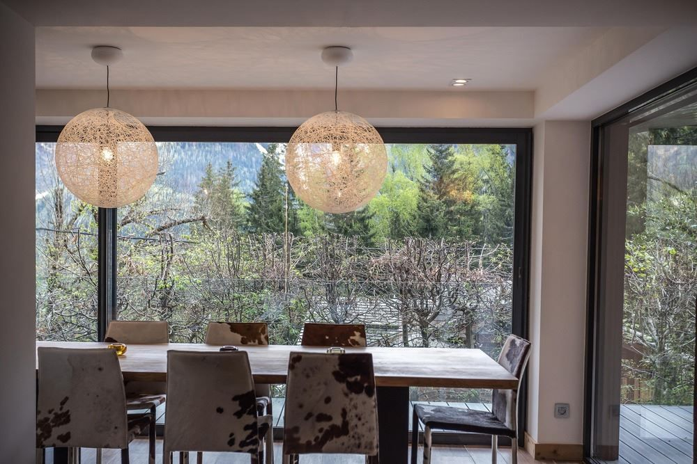Picture Of modern and elegant french chalet with a new extension  8