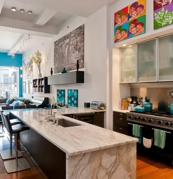 Modern And Fresh New York Loft