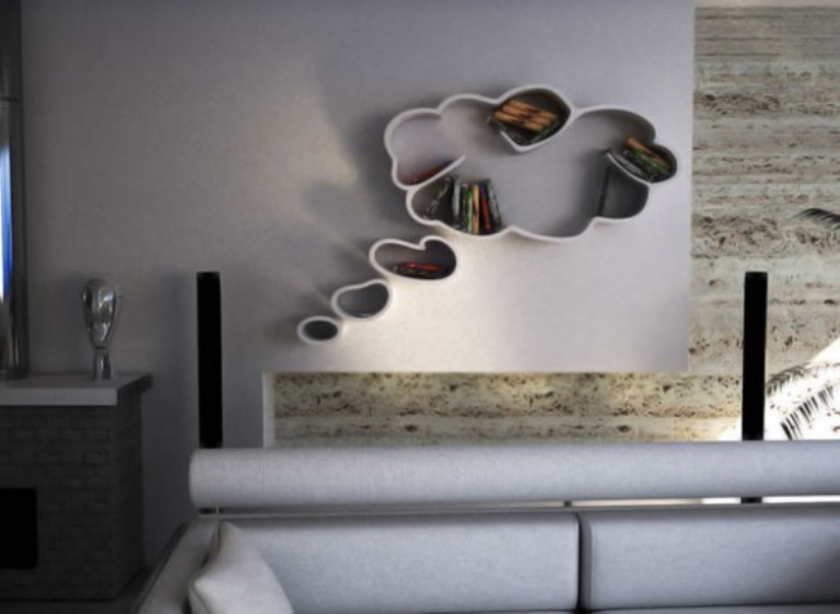 Modern And Funny Dreams Bookshelf | DigsDigs