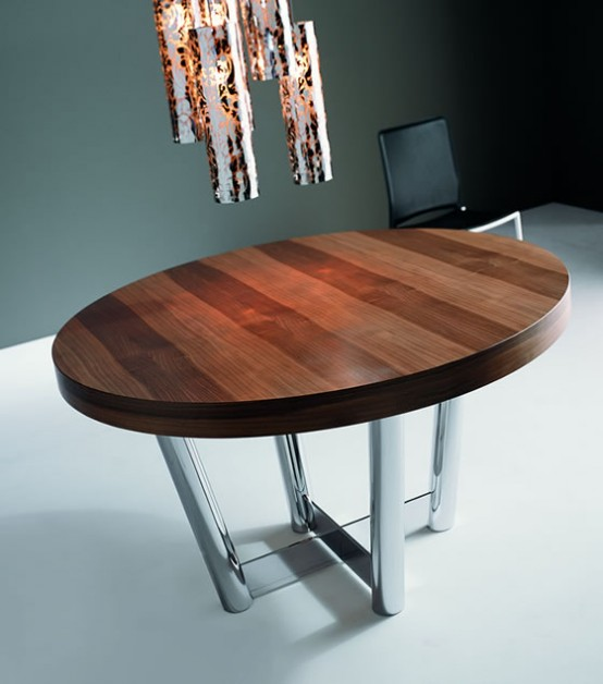 Modern And Luxurious Diner Tables By Italian Designers
