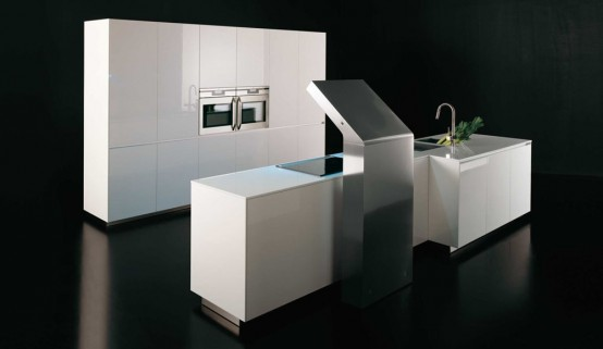 Modern And Luxurious Levoluzione And Sinuosa Kitchen Designs