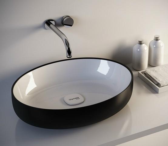 Modern And Refined Metamorfosi Washbasins