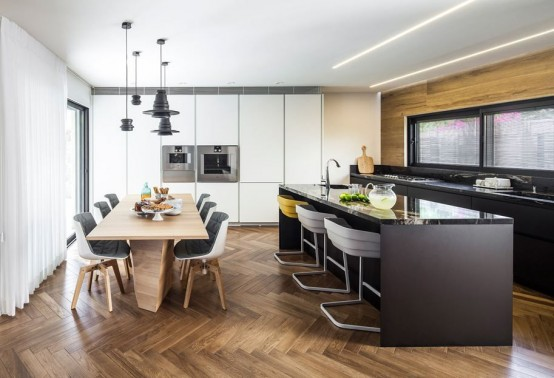 Luxury Modern And Smart Kitchen Island Seating Options