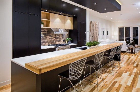 Cute Modern And Smart Kitchen Island Seating Options