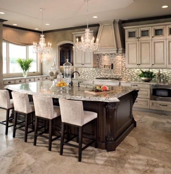 Custom Kitchen Islands Pictures Ideas Tips From Hgtv: 26 Modern And Smart Kitchen Island Seating Options